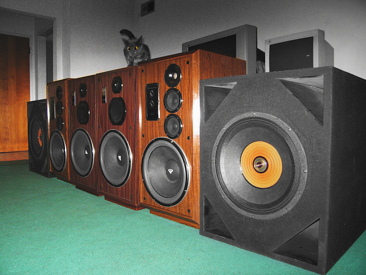 Post pics of your Cerwin-Vega's here! | Audiokarma Home